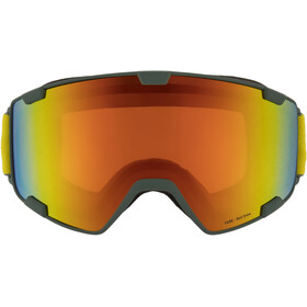 Red Bull SPECT Park Goggles, olive green/red snow